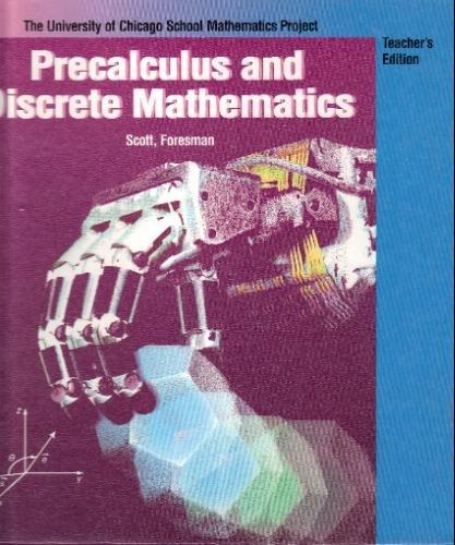 9780673333674: Precalculus & Discrete Mathematics