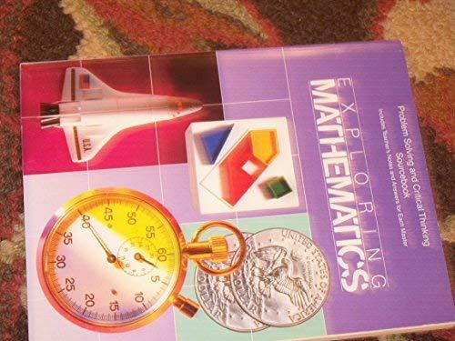9780673338648: Exploring Mathematics - Problem Solving and Critical Thinking Sourcebook Grade 4