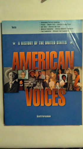 9780673352033: American Voices Tests