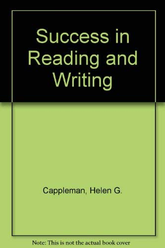 9780673360007: Success in Reading/Writing Gr K