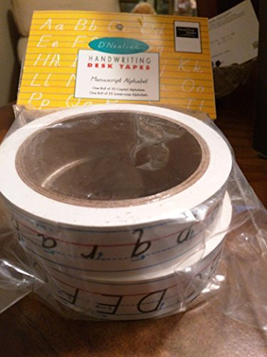 9780673360298: D'NEALIAN HANDWRITING DESK TAPE, MANUSCRIPT