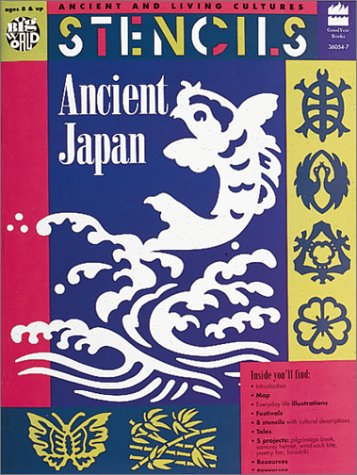 9780673360540: Stencils Ancient Japan: Ancient & Living Cultures Series: Grades 3+: Teacher Resource (Ancient and Living Cultures)