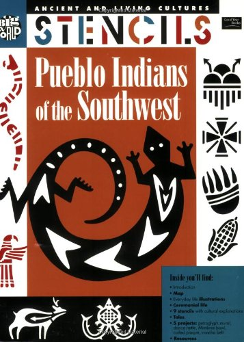 9780673361028: Pueblo Indians of the Southwest/Includes Stencils