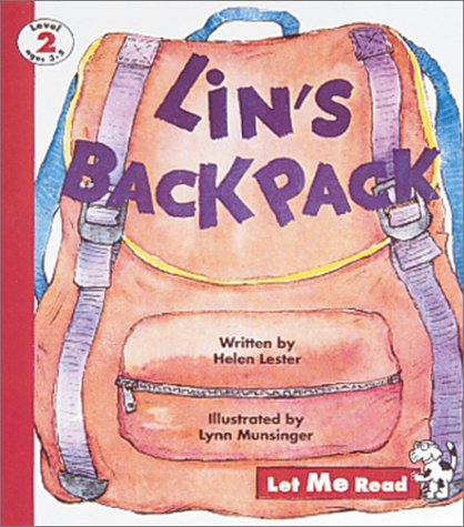 9780673361943: Lin's Backpack, Let Me Read Series, Level 2 (Ages 3 to 5) (Let Me Read, Level 2)