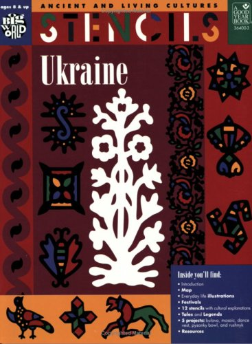 9780673364005: Stencils Ukraine: Ancient & Living Cultures Series: Grades 3+: Teacher Resource (The Ancient & Living Cultures Series)