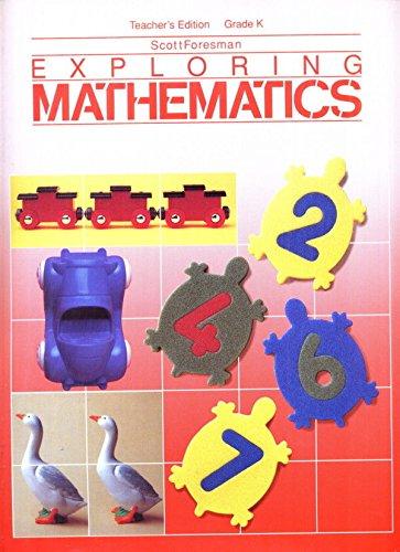 9780673375544: Scott Foresman Exploring Mathematics Level K
