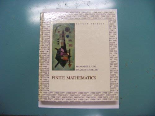 9780673382535: Finite mathematics