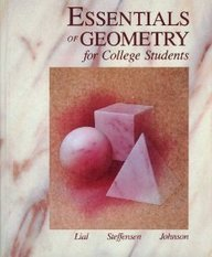 9780673384195: Essentials of Geometry for College Students