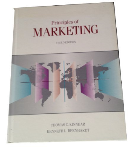 9780673385659: Principles of Marktg 3/E (Scott, Foresman series in marketing)