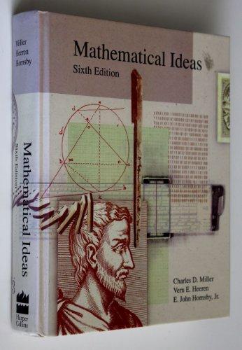 9780673388292: Mathematical Ideas