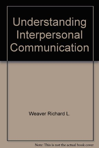 9780673389053: Understanding interpersonal communication