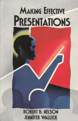 9780673389565: Making Effective Presentations (Scott, Foresman Applications in Management Series)