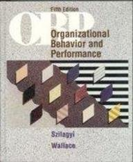 9780673389886: Organizational Behavior and Performance