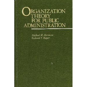 9780673390226: Organization Theory for Public Administration