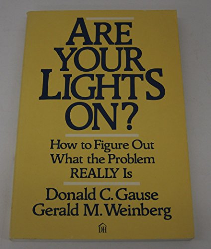 9780673390998: Are Your Lights On? How to Figure Out What the Problem Really Is