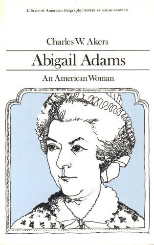 9780673393180: Abigail Adams, an American Woman