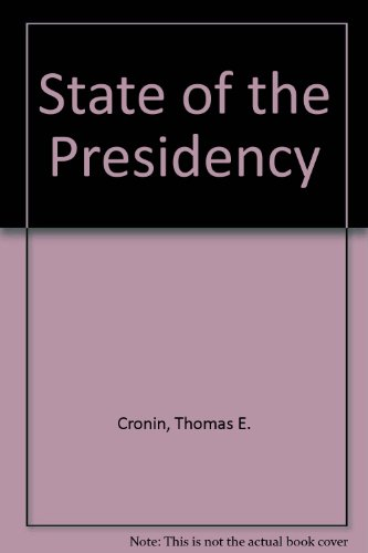 9780673394293: State of the Presidency