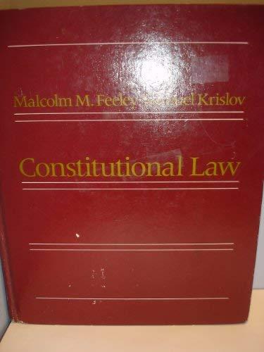 9780673394385: Constitutional Law