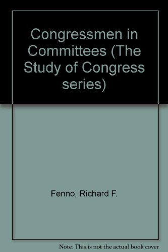 9780673394392: Congressmen in Committees (The Study of Congress series)