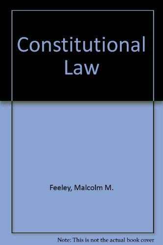 9780673396907: Constitutional Law