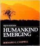 Humankind Emerging: Bernard Campbell