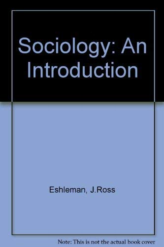 9780673397188: Sociology: An Introduction