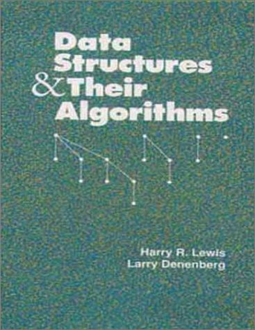 9780673397362: Data Structures and Their Algorithms