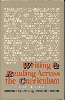 9780673397652: Writing and Reading Across the Curriculum