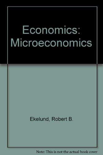 9780673397690: Economics: Microeconomics