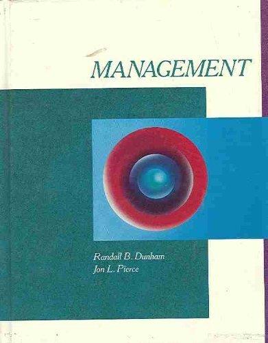 Management: Pearce, John A.,