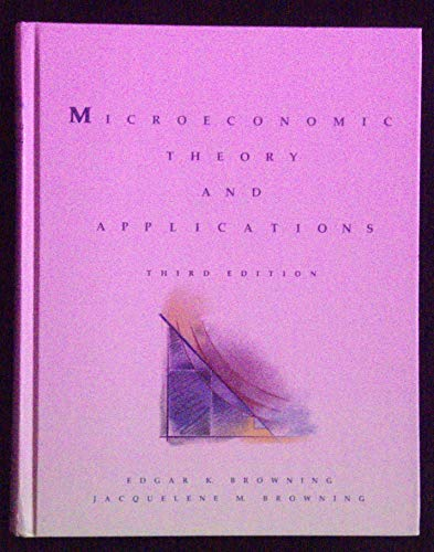 9780673398277: Microeconomic Theory and Applications