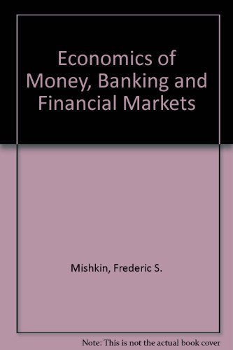 9780673398314: Economics of Money, Banking and Financial Markets