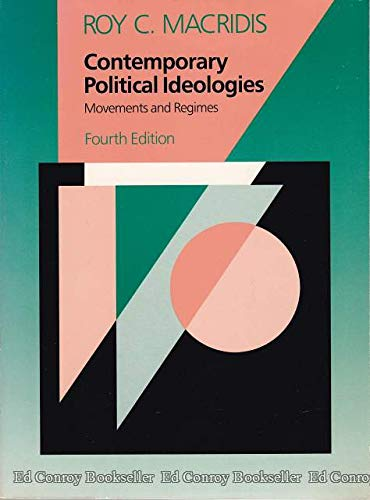 9780673398390: Contemporary Political Ideologies: Movements and Regimes (Scott, Foresman/Little, Brown series in political science)