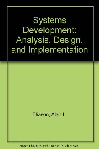System Analysis Design And Implementation Abebooks