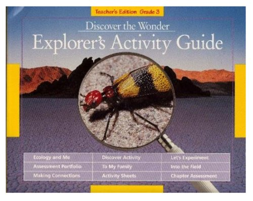Discover the Wonder: Explorer's Activity Guide: Various