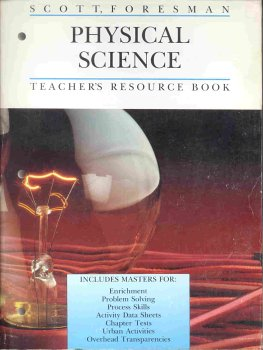 9780673421906: Scott, Foresman Physical Science Teacher's Resource Book