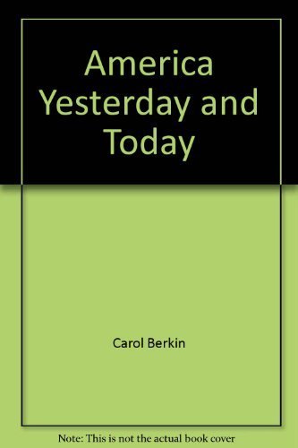 9780673430557: America yesterday and today (Scott, Foresman social studies)