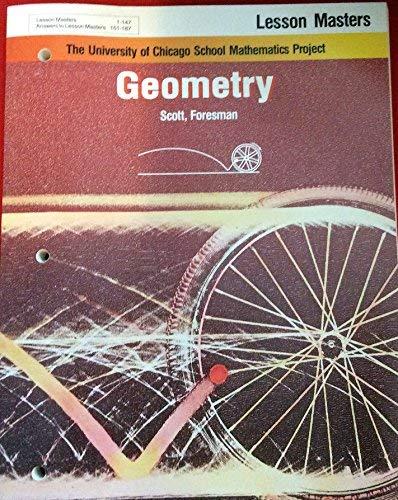 9780673454010: Geometry Answer Masters (University of Chicago School Mathematics Project)