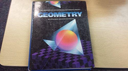 9780673457851: UCSMP Geometry (University of Chicago School Mathematics Project)