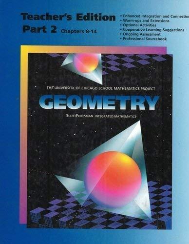 9780673457875: Geometry Teacher's Edition Part 2 (Chapters 8-14) (University of Chicago School Mathematics Project)