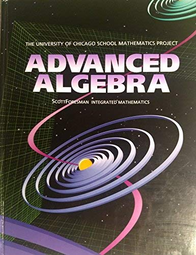 9780673458049: Advanced Algebra