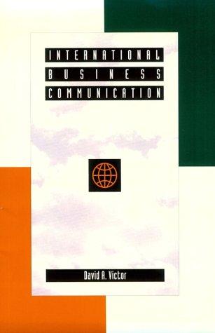 9780673460912: International Business Communication