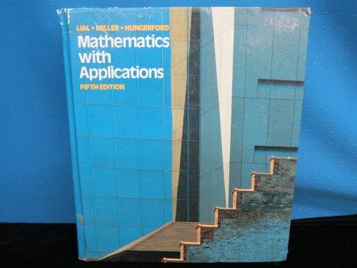 9780673462770: Maths with Applics 5e Sp Lial
