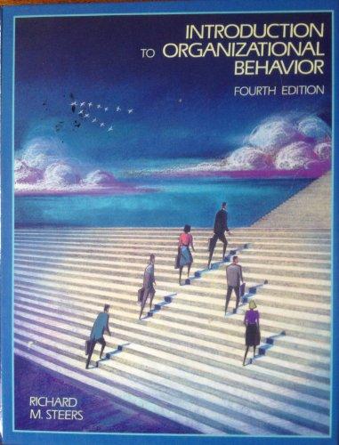 9780673463159: Introduction to Organizational Behaviour