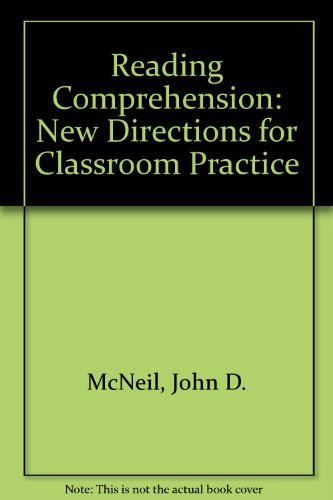 9780673464255: Reading Comprehension: New Directions for Classroom Practice