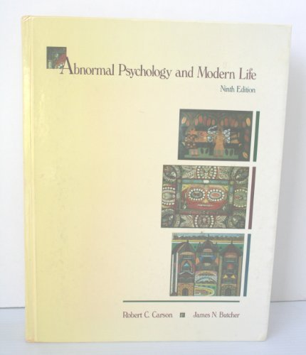 9780673464880: Abnormal Psychology and Modern Life