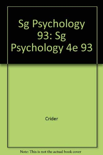 9780673465405: Psychology: Study Guide