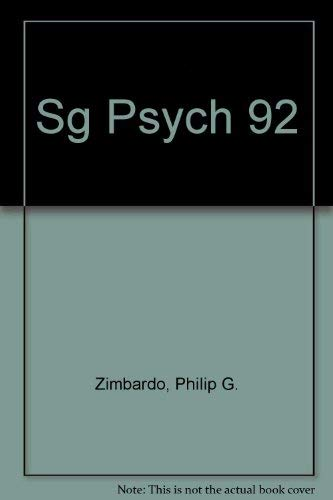 9780673466280: Study Guide and Practice Tests to Accompany Zimbardo's Psychology and Life