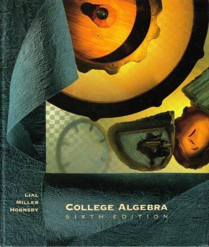 9780673466488: College Algebra
