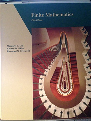 9780673467270: Finite Mathematics